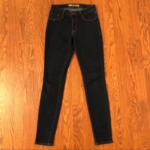 Old Navy Dark Wash Rock Star Skinny Jeans Size 4